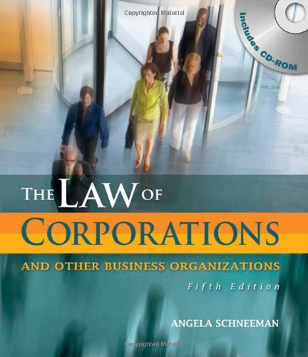 Law of Corporations and Other Business Organizations