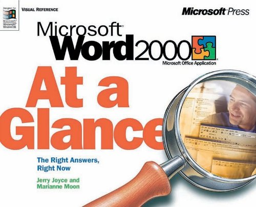 Word 2000 at a Glance (At a Glance (Microsoft))